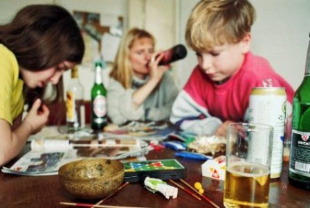 alcoholic parent