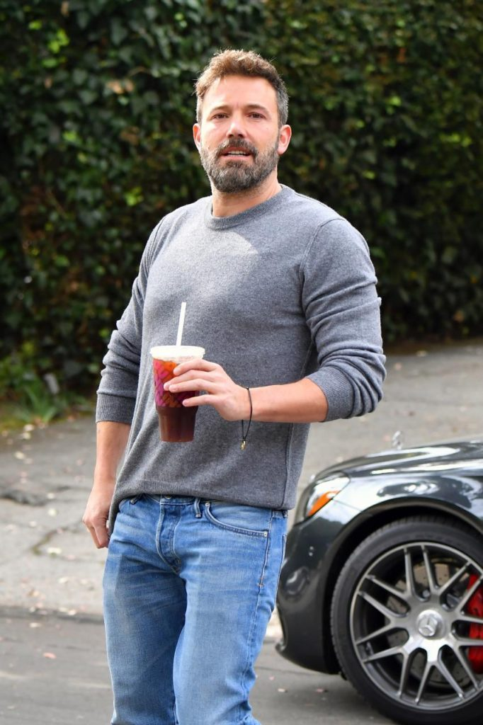 Ben affleck on his alcohol relapse