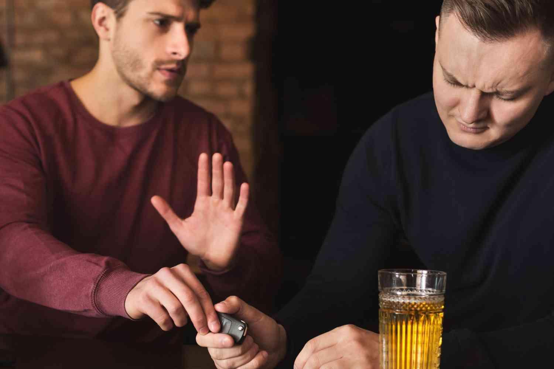 alcoholic friend